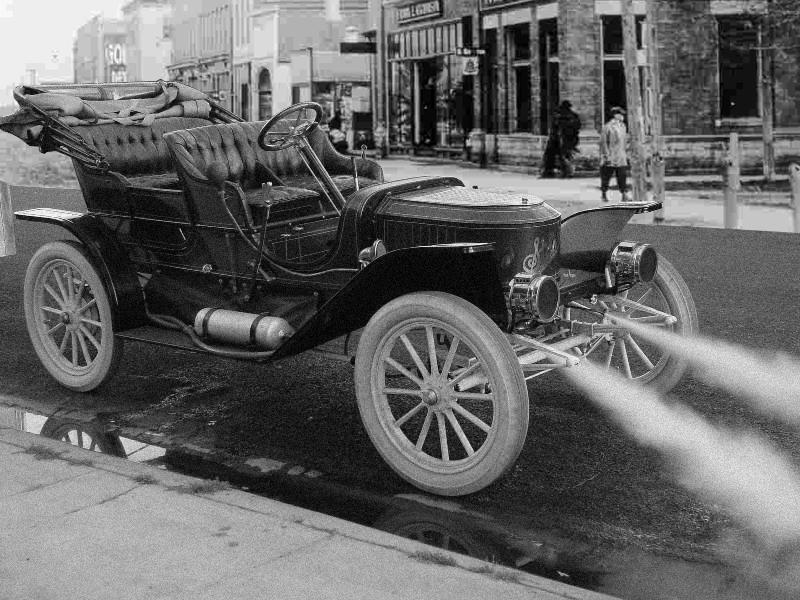 voiture à vapeur